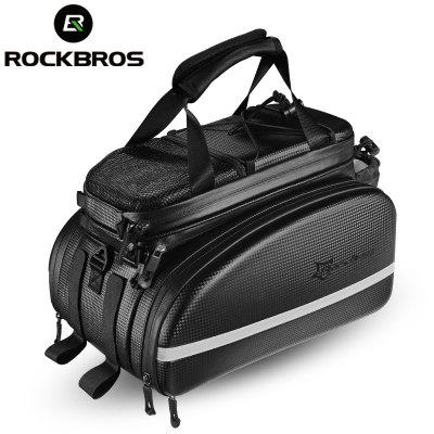 ROCKBROS Bicycle Carrier Rack Bag Trunk Pannier Cycling Multifunctional Large Capacity Travel Bag