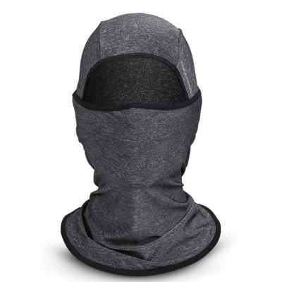 ROCKBROS Ice Fabric Anti-UV Sunshade Riding Headgear Bicycle Bike Face Mask Sports Hat Scarf