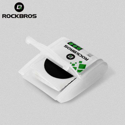 ROCKBROS No Glue Chip Bicycle Tire Repair Kit Mountain Bike Piece Thin Road Available 1 piece Accessories