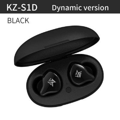 KZ S1 S1D True Wireless Bluetooth 5.0 Headphones HiFi Dynamic Balance Armature Driver Touch Control