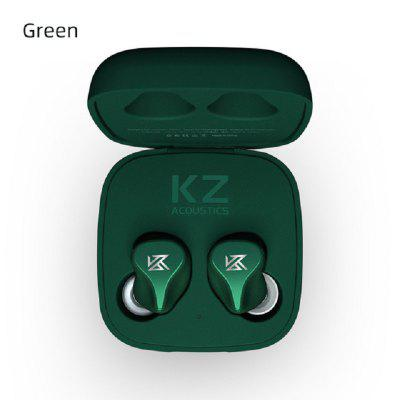 KZ Z1 TWS Bluetooth V5.0 Noise Reduction Touch Control Dual Magnetic Dynamic Headphones