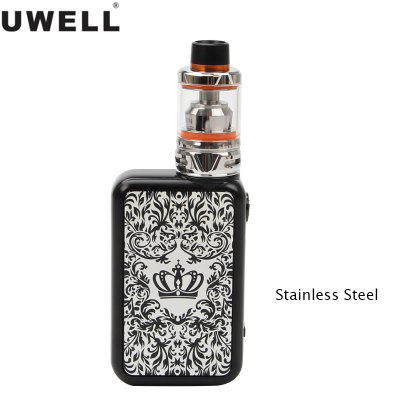 UWELL Crown IV Crown 4 Kit 200W Crown IV Mod Vape With 5ml Crown 4 Tank Electronic Cigarette