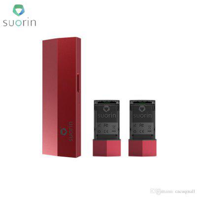 Suorin Edge Case with 2 Batteries Comes with Two Removable Batteries and A Case  Extra Pod