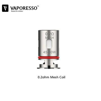 Pre-Order Vaporesso GTX Mesh Coil Replacement 0.3ohm 0.2ohm Coil For Target PM80 Pod Cartridge Vape