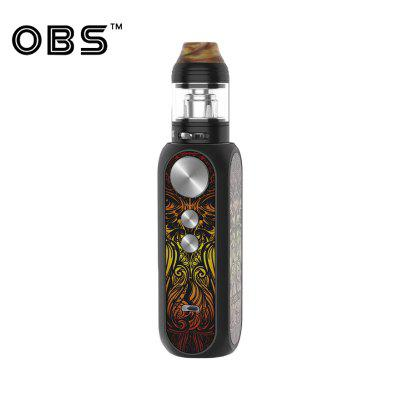 OBS Cube X kit with 80W Cube X MOD Vape 4ml Tank Electronic Cigarette Vaporizer with M1 M3 Mesh Coil