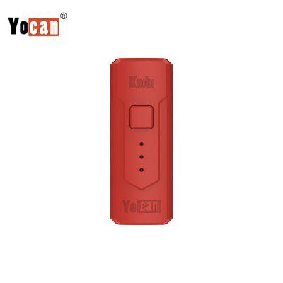 Yocan Kodo Box Mod 400mAh Battery Adjustable Voltage Electronic Cigarette Vape for 510 thread Tank