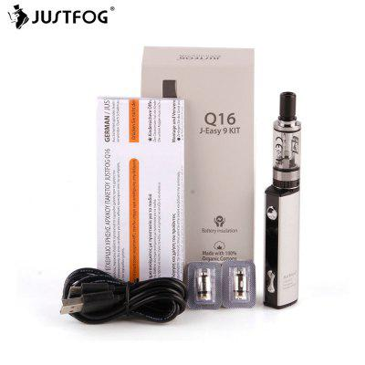 GearBest coupon: Justfog Q16 Kit 900mAh Vape Pen Starter Kit with 2ml Justfog Q16 Clearomizer 1.6ohm Coil ECigarette