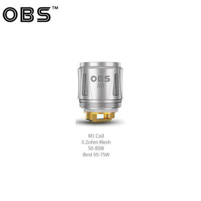 OBS Draco Replacement Coil 0.2ohm M1 Mesh Coil 0.15ohm M3 Head for OBS Cube Vape Coil Vaporizer