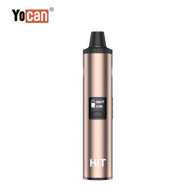 Yocan Hit Vaporizer Kit 1400mAh Battery Magnetic Mouthpiece and Built-in Stirrer OLED Display