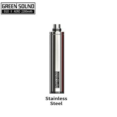 Greensound eGo II Aero Battery 2200mAh 18650 battery Chip NO BUTTON Design Airflow Switch