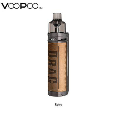 VOOPOO Drag X Mod Pod Kit 80W Mod Powered by Single 18650 Battery 4.5ml Pod Cartridge with PnP-VM1 & VM6 PnP Coil Authentic