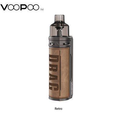 VOOPOO Drag S Mod Pod Kit 60W 2500mAh built-in Battery with 4.5ml Pod Cartridge Bottom Refilling System PnP Coil PnP-VM1 VM3 Authentic