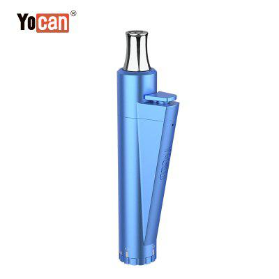 Yocan LIT Vaporizer Kit 400mAh Built-in Battery with QDC Coil Magnetic Adapter 10 Sec Preheat Variable Twist Voltage Vape Pen Kit Authentic