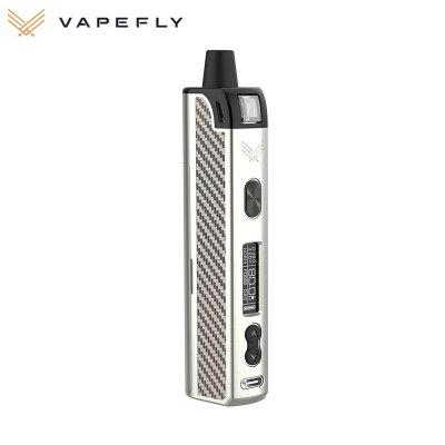 Vapefly Optima Pod Mod Kit 80W with 0.3/0.6ohm Mesh Coil 3.5ml RMC Cartridge Single 18650 Battery DIY Vaporizer Authentic