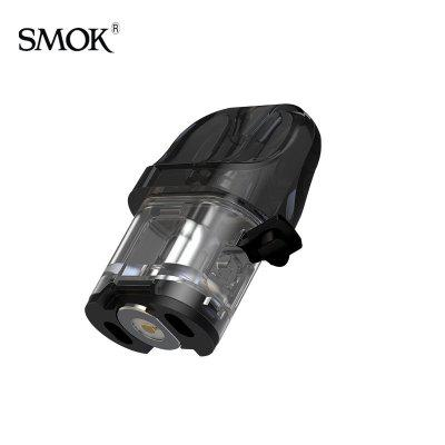 SMOK NOVO 4 POD Cartridge Empty 2ml Capacity Side Filling Tank Compatible with LP1 Mesh Coil c 3pcs/Pack Authentic