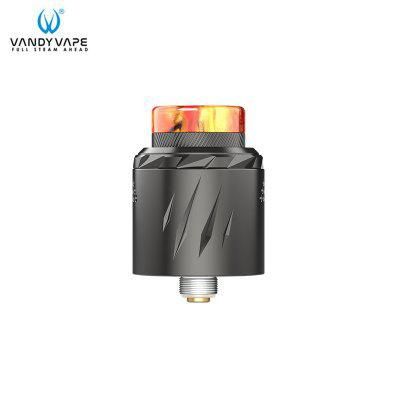 Vandy Vape Rath RDA Atomizer 2ml Capacity Various Airflow aAdjustment Methods Supports Single/Dual Heating Wire Vandyvape Tank E-cigarette Authentic