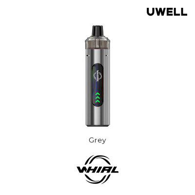 Uwell Whirl T1 Kit Built-in 1300mAh Battery 14-16W Adjustable Output with 3ml Pod UN2 Meshed-H 0.75ohm Refilled Cartridge Coil Not-Replaceable Vape original oukitel hero 13w pod kit with 850mah built in battery