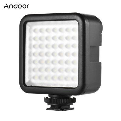 Andoer W49 Mini Interlock Camera LED Panel Light