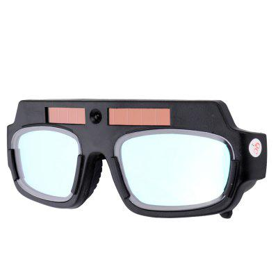Solar Energy Auto Darkening Welding Safety Goggles