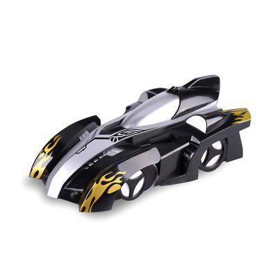 RC Car Wall-mounted Racing Car Sport Climber with 360 Degree Rotating Stunt Toys