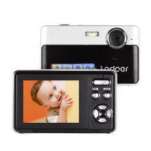 Andoer draagbare mini digitale camera 24 megapixels High Definition 2,4 inch IPS-scherm