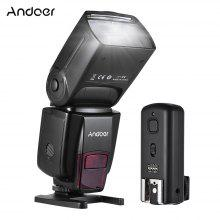 Andoer AD560 IV 2.4G Wireless Universal On-camera Slave Speedlite Flash Light GN50