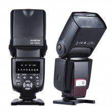 Andoer AD 56 II Universal Flash Speedlite บนแฟลชกล้อง