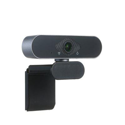 USB Webcam 1920 x 1080P HD 30fps PC Computer Camera Drive Free Desktop/Laptop Camera with Microphone Compatible with Windows/Android/Linux
