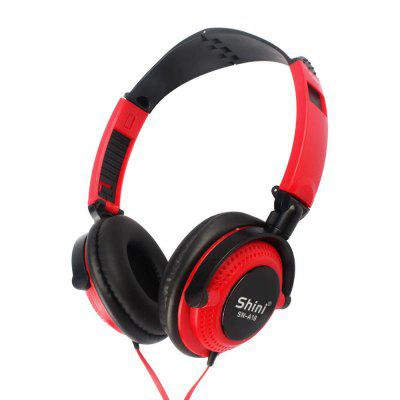 3.5mm Wired Gaming Headset Over-Ear Sports Headphones Music Earphones with Microphone In-line Control for Smartphones Tablet Laptop Desktop PC
