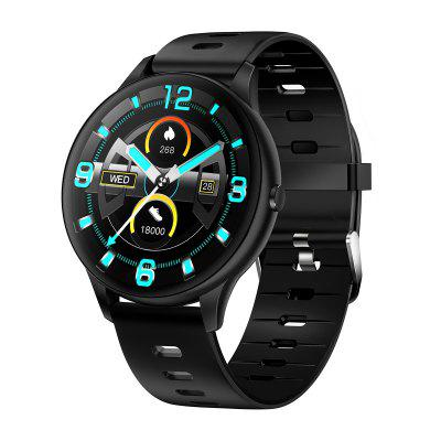 K21 Smart Watch Sports 1.3-Inch IPS Screen BT5.0 Fitness Tracker IP68 Waterproof Sleep/Heart Rate/Blood Pressure Compatible with Android iOS