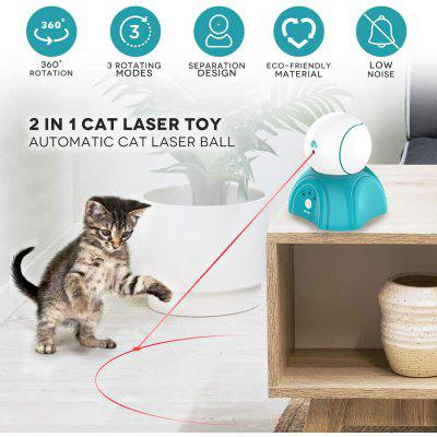 PETNF Cat Laser Toy Laser Ball for Cats Cat Toys Interactive Non-Toxic and Eco-Friendly Cat Toy