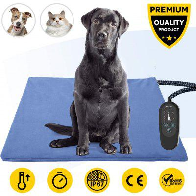 Best Seller Pet Heating Pad with Timer Temperature Adjustable Pet Bed Heater Warmer