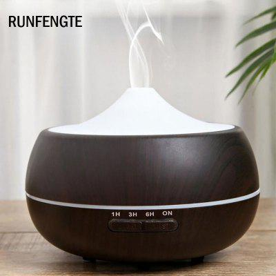 RUNFENGTE RFT-A03 Wood Aromatherapy Ultrasonic Air Humidifier Aroma Essential Oil Diffuser For Home