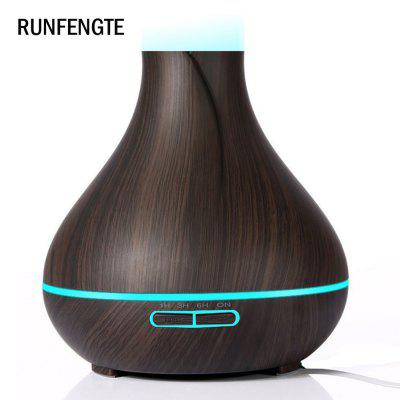 RUNFENGTE RFT-A80 Essential Oil Diffuser Humidifier Wood Grain Aromatherapy Cool Mist Humidifier