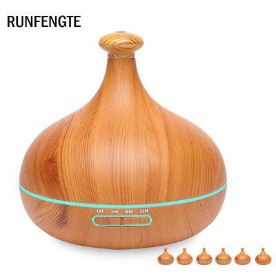 RUNFENGTE RFT-A70 New Wood Grain Aromatherapy Cool Mist Air Humidifier Aroma Diffuser Essential Oil
