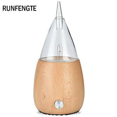 RUNFENGTE Nebulizer Aromatherapy Diffuser Waterless Essential Oil Diffuser Humidifier Machine