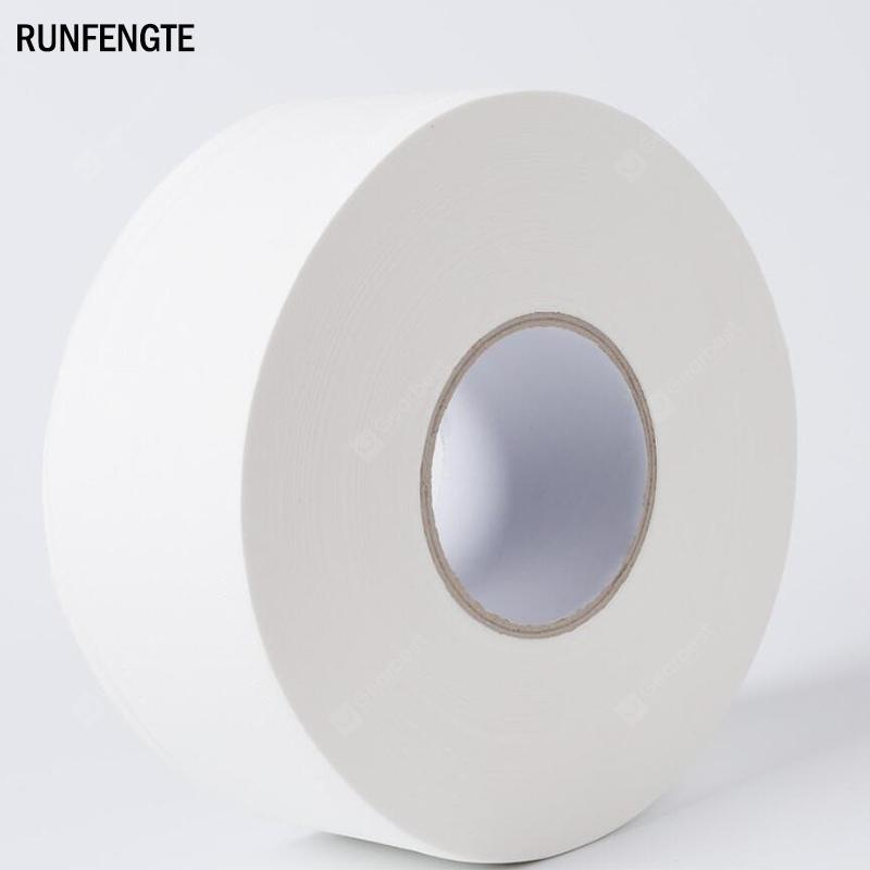 RUNFENGTE Four Layer Toilet Paper Roll Large Native Wood Pulp Pack Soft Toilets Tissue