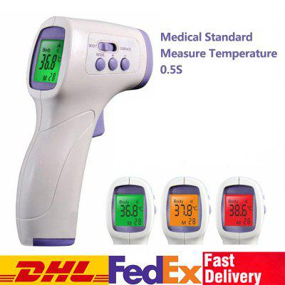 DHL TNT Non-contact Ear Forehead Thermometer for Baby Adult IR Infrared Temperature Measurement LCD