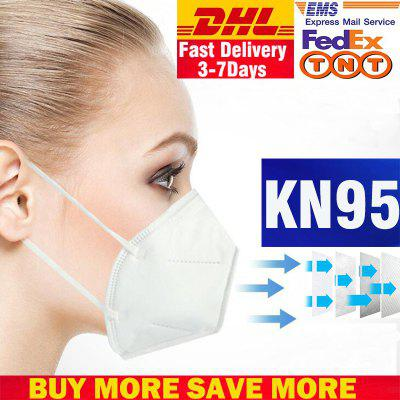 DHL TNT KN95 Mask Disposable Breathable Protective Filtration Cotton Mask Dust -Factory Supply