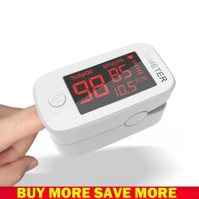 Big Screen LED Blood Oxygen Monitor Finger Pulse Digital Finger Oximeter Oxygen Saturation Meter