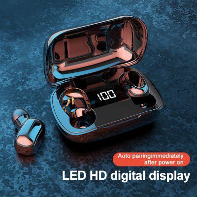 Фото - Wireless Bluetooth Earphone TWS 5.0 Earphones IPX5 Charging Box Wireless Headphone 9D Stereo Sports Waterproof Earbuds Headsets With Microphone dekko dk 8809 sports mini auto scan fm radio w stereo earphone silver blue black