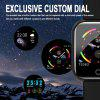 New I5 Stainless Steel Smart Watch Blood Pressure Monitoring Exercise Bracelet Step Control Music Playback Smart Reminder Multilingual Clock Hours