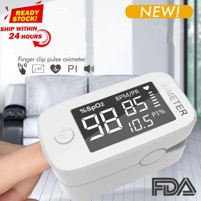 Big Screen LED Blood Oxygen Monitor Finger Pulse Digital Oximeter Saturation Meter