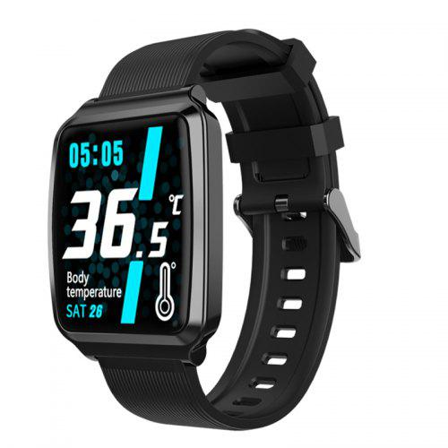 Smart Watch Real-time Body Temperature Thermometer Oximeter Waterproof Fitness Watch Call Reminder Sport Mode Smartwatch Bright Screen Sport Bluetooth
