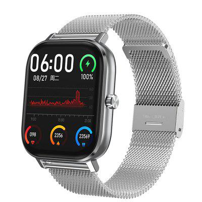 Smart Watch New PPG ECG SmartWatch Oximeter Men Steel Bluetooth Call 24-Hour Heart Rate Monitor IP67 DIY Watch Face For Android GTS f3 smart watch support 3g network call wi fi gps heart rate monitor