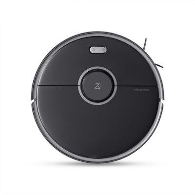 Roborock S5 Max Laser Navigation Robot Vacuum Cleaner Sweep Sterilize AI Recharge WIFI APP Control Automatic Smart Sweeping for Home Electric Mop Image