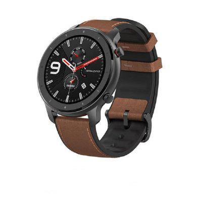 Amazfit GTR 47mm Smart Watch Global 5ATM Waterproof Smartwatch 24 Days Battery GPS Music Control With GPS Heart Rate For Android IOS Image