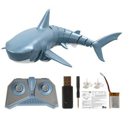 2.4G Simulation Remote Control Shark Boat Toy for Swimming Pool Bathroom Toy