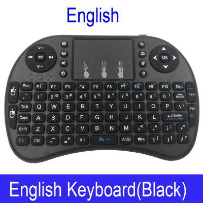 i8 Mini Wireless Keyboard 2.4GHz QWERTY Keyboard with Touchpad For Android TV Box Laptop