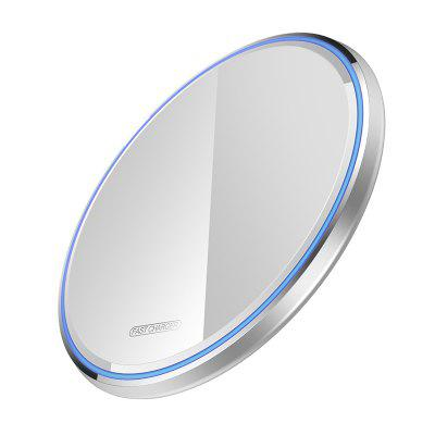 10W Qi Wireless Charger For iPhone X XS Max XR 8 Plus Mirror Wireless Charging Pad